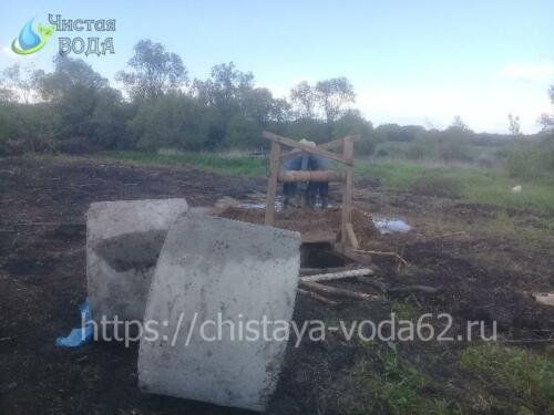 Копка колодцев в Рязанской области - Чистая вода
