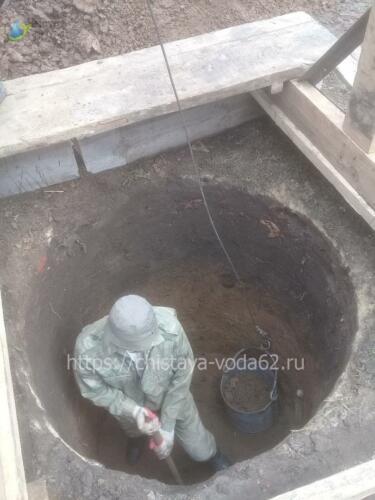 Чистая вода 62 - копка, чистка, углубление колодцев в Рязани